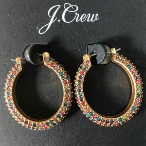 J crew rainbow earrings